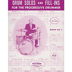 Alfred Drum Solos and Fill-Ins Book 1 (00-17309)