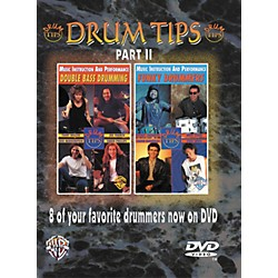 Alfred Drum Tips Part II - Double Bass Drumming/Funky Drummers DVD (00-904831)