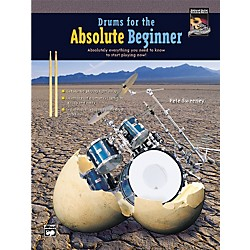 Alfred Drums for the Absolute Beginner (Book/CD) (00-20408)