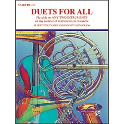 Alfred Duets for All Snare Drum (00-PROBK01333)