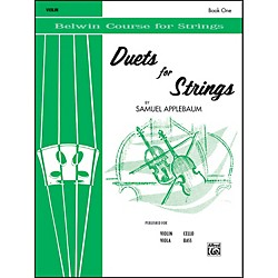 Alfred Duets for Strings Book I Violin (00-EL01990)