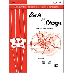 Alfred Duets for Strings Book II Cello (00-EL02020)
