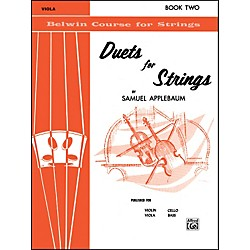 Alfred Duets for Strings Book II Viola (00-EL02019)