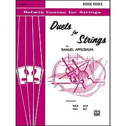 Alfred Duets for Strings Book III Cello (00-EL02075)