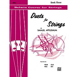 Alfred Duets for Strings Book III Viola (00-EL02074)