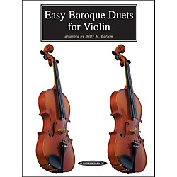 Alfred Easy Baroque Duets for Violin (Book) (00-0262)