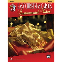 Alfred Easy Christmas Carols Instrumental Solos Clarinet Book & CD (00-38751)