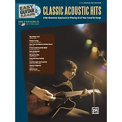 Alfred Easy Guitar Play-Along: Classic Acoustic Hits (Book/CD) (701317)