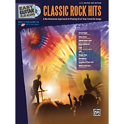 Alfred Easy Guitar Play-Along: Classic Rock Hits (Book/CD) (701316)