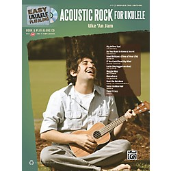 Alfred Easy Ukulele Play-Along Acoustic Rock Book/CD (322409)