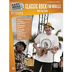 Alfred Easy Ukulele Play-Along Classic Rock Book & CD (322411)