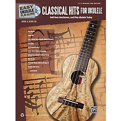Alfred Easy Ukulele Play-Along Classical Hits for Ukulele Book & CD (00-39197)