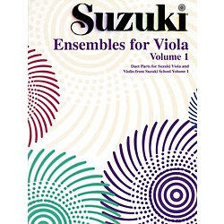 Alfred Ensembles for Viola, Volume 1 Book (00-0411S)