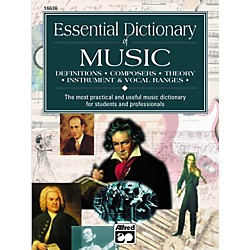 Alfred Essential Dictionary of Music Book (00-16636)