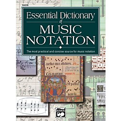 Alfred Essential Dictionary of Music Notation  Pocket Size Book (00-16638)