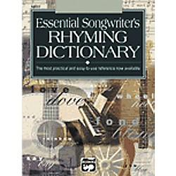 Alfred Essential Dictionary of Songwriter's Rhymes (00-16637)