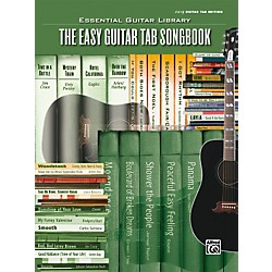 Alfred Essential Guitar Library Easy Guitar Tab Songbook (00-27524)