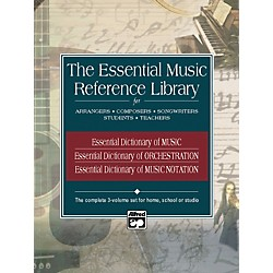 Alfred Essential Music Reference Library - 3 Book Set (00-21889)
