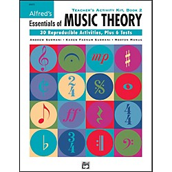 Alfred Essentials Of Music Teacher Activity Book 2 (00-20373)