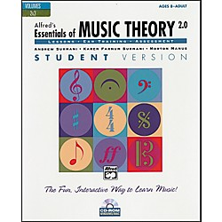 Alfred Essentials of Music Theory: Software Version 2.0 CD-ROM Student Version Volumes 2 & 3 (00-20822)