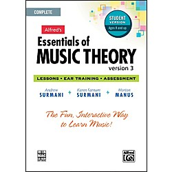 Alfred Essentials of Music Theory: Version 3 CD-ROM Student Version Complete (00-34627)