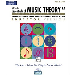 Alfred Essentials of Music Theory 2.0 Educator Version Complete (CD-ROM) (00-18832)