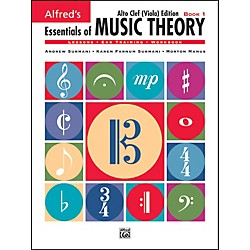 Alfred Essentials of Music Theory Book 1 Alto Clef (Viola) Edition Book 1 Alto Clef (Viola) Edition (00-18580)