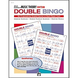 Alfred Essentials of Music Theory Double Bingo (00-19479)