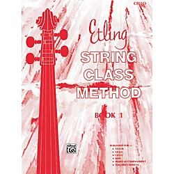 Alfred Etling String Class Method Book 1 Cello (00-12661)