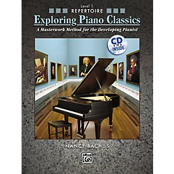 Alfred Exploring Piano Classics Repertoire Level 1 (00-31355)