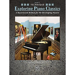 Alfred Exploring Piano Classics Technique Level 1 (00-31348)
