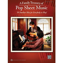 Alfred Family Treasury of Pop Sheet Music Book (322404)