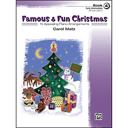 Alfred Famous & Fun Christmas Book 4 (00-23221)