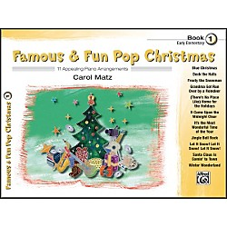 Alfred Famous & Fun Pop Christmas Book 1 (00-38595)