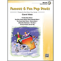 Alfred Famous & Fun Pop Duets Book 1 (00-27705)