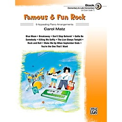 Alfred Famous & Fun Rock, Book 3 (00-41004)