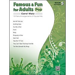 Alfred Famous & Fun for Adults Pop Book 5 Piano (00-32151)