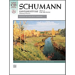 Alfred Fantasiestucke, Op. 12 by Robert Schumann Book & Naxos Label CD (00-37156)