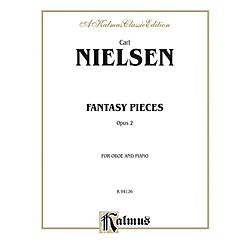 Alfred Fantasy Pieces Op. 2 for Oboe By Carl Nielsen Book (00-K04126)