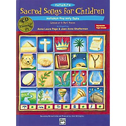 Alfred Favorite Sacred Songs for Children, Holidays and Holy Days - 2 of 3 Songbook (00-19872)
