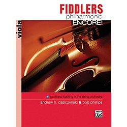 Alfred Fiddlers Philharmonic Encore! Viola Book (00-18081)