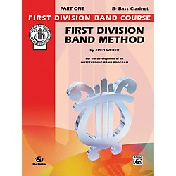 Alfred First Division Band Method Part 1 B-Flat Bass Clarinet (00-FDL00006A)