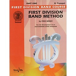 Alfred First Division Band Method Part 1 B-Flat Cornet (Trumpet) (00-FDL00012A)