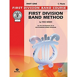 Alfred First Division Band Method Part 1 C Flute (00-FDL00002A)