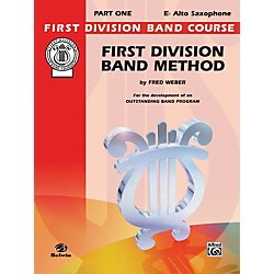 Alfred First Division Band Method Part 1 E-Flat Alto Saxophone (00-FDL00009A)