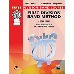 Alfred First Division Band Method Part 1 E-Flat Baritone Saxophone Book (00-FDL00011A)