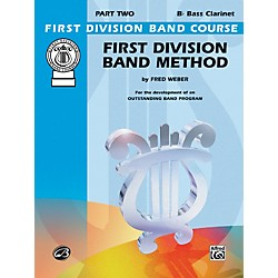 Alfred First Division Band Method Part 2 B-Flat Bass Clarinet (00-FDL00098A)
