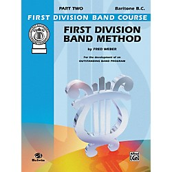 Alfred First Division Band Method Part 2 Baritone (B.C.) (00-FDL00108A)