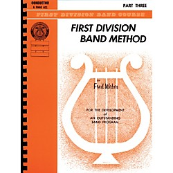 Alfred First Division Band Method Part 3 Baritone (B.C.) (00-FDL00180A)