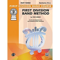 Alfred First Division Band Method Part 3 Baritone (T.C.) (00-FDL00181A)